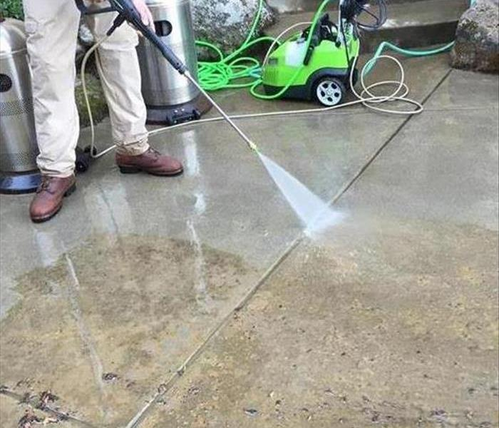 Power of Pressure Washing After