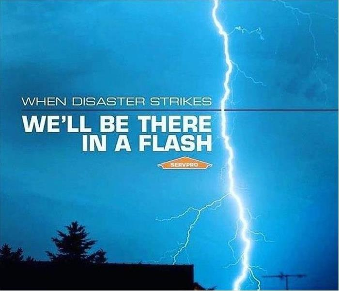 Lightning can cause house fires... if it does, call us!