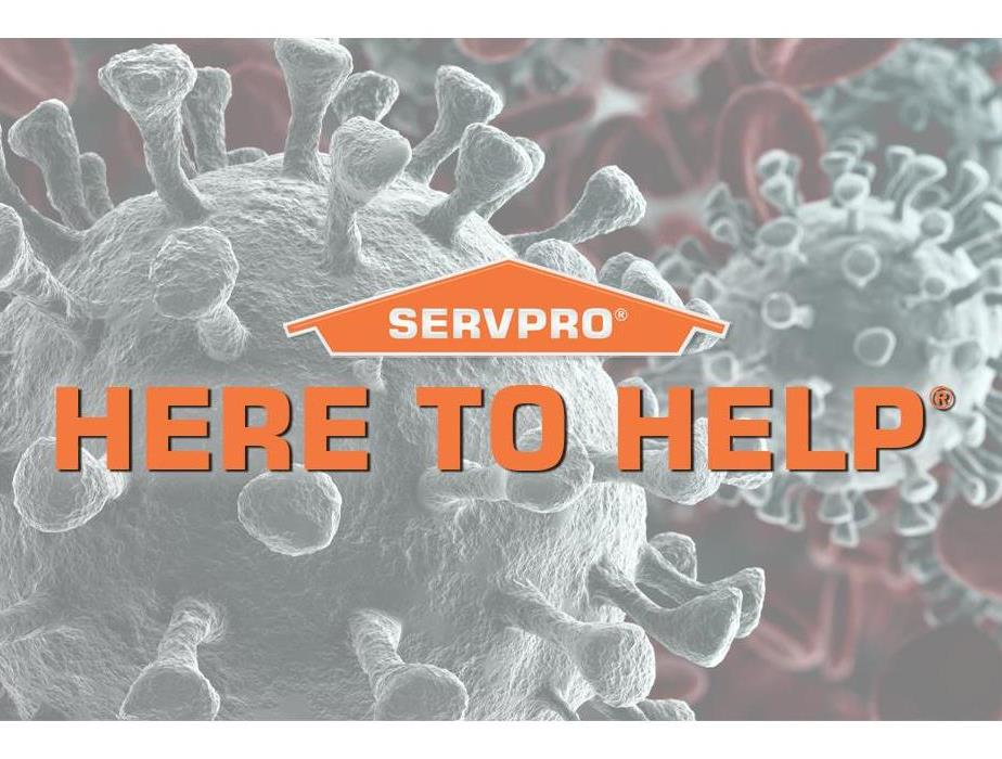 Your friends at SERVPRO® are always Here To Help.