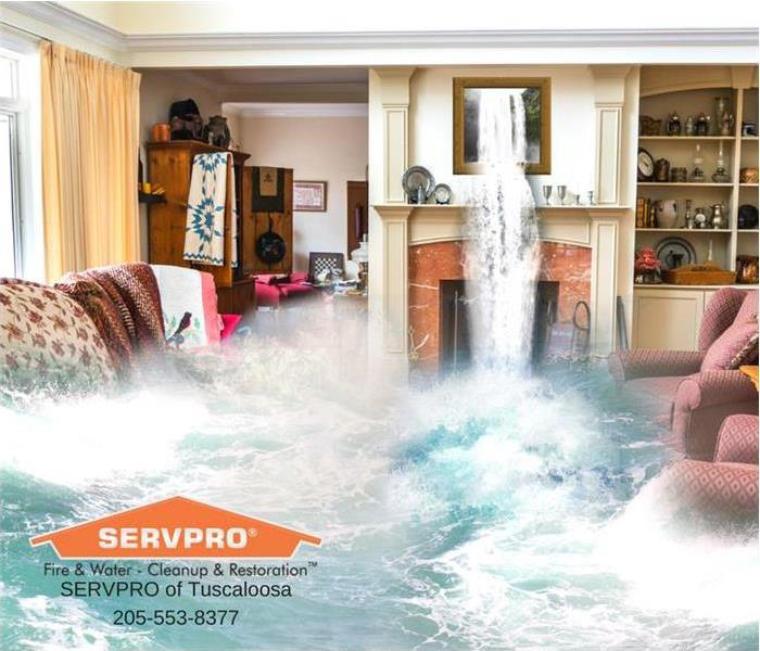 Flooded house... Call us today!